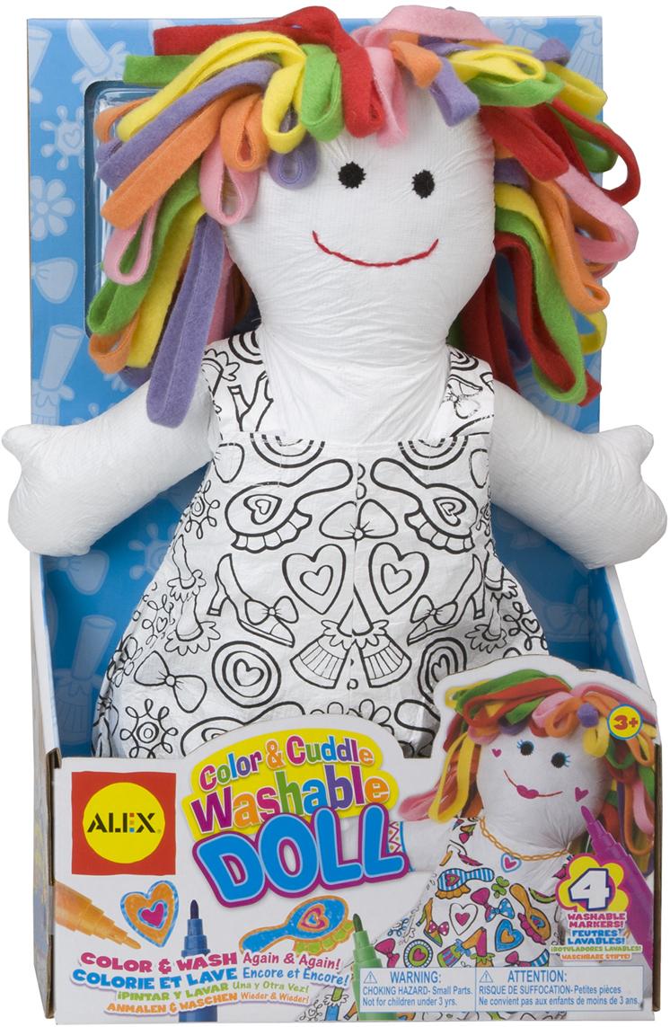 Alex Набор для росписи Раскрась куклу