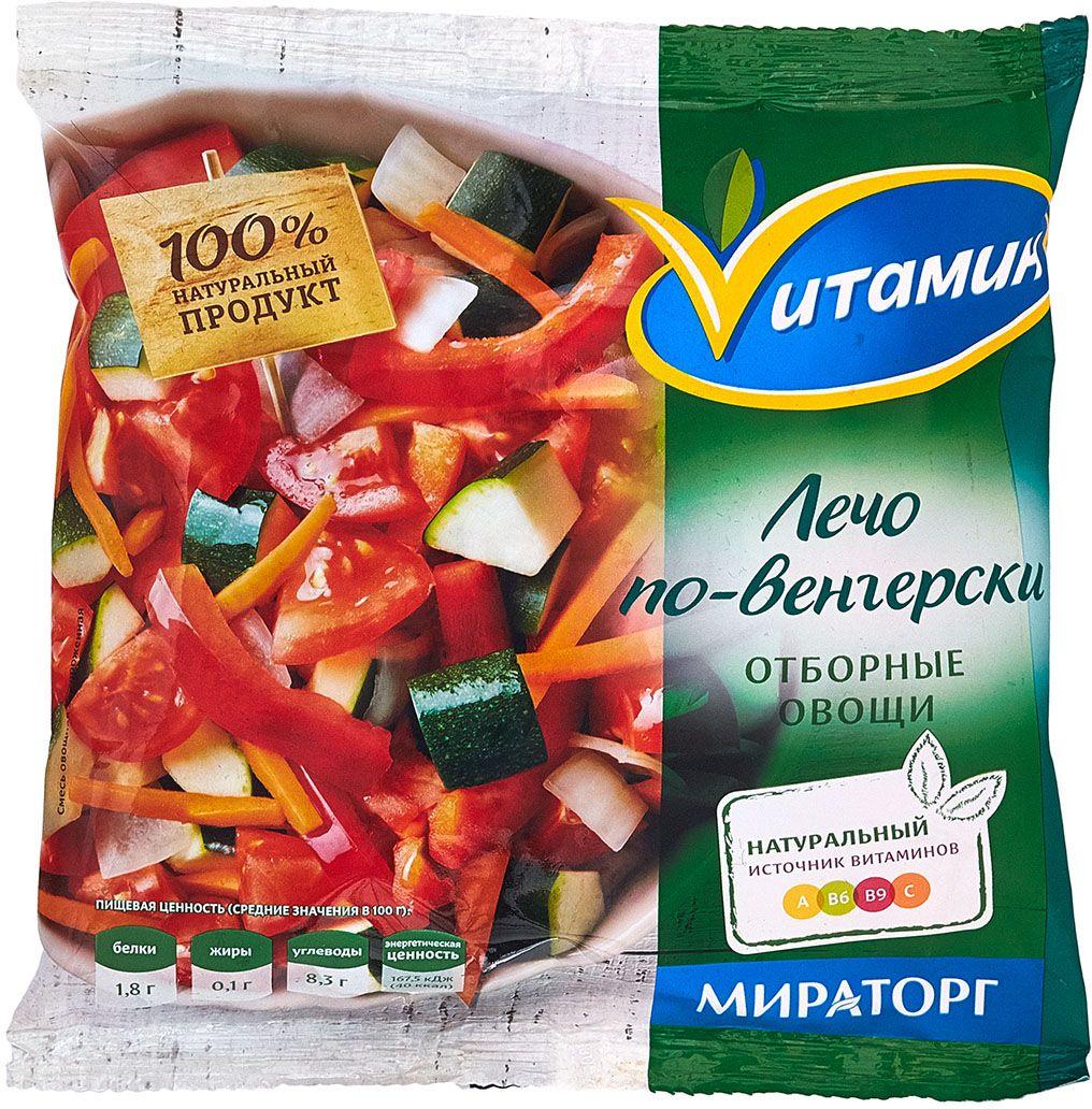 Лечо по-венгерски Vитамин, 400 г, Мираторг