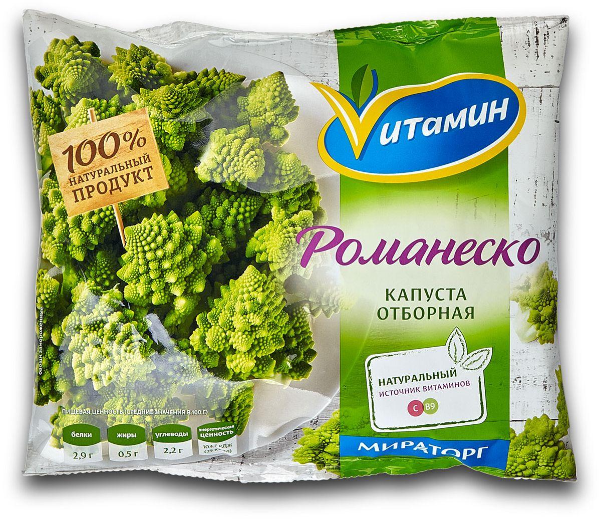 Капуста Романеско Vитамин, 400 г шницель с картофельным пюре под сливочно грибным соусом мираторг 350 г