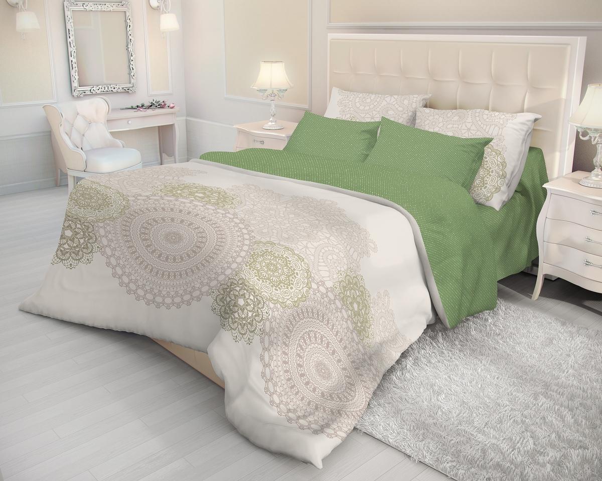 Комплект белья Волшебная ночь Lacy, 2-спальный, наволочки 70x70. 716312 комплект белья волшебная ночь frame 2 спальный наволочки 50х70 цвет зеленый белый