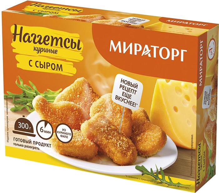 Наггетсы куриные с сыром Мираторг, 300 г