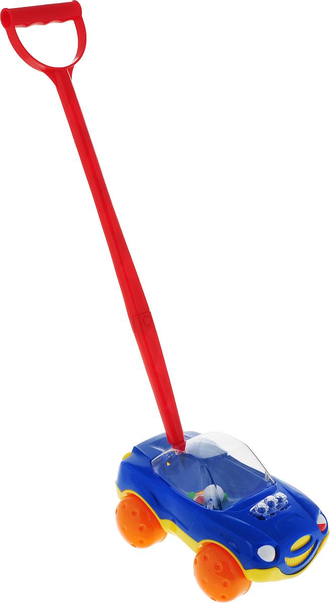 Stellar Игрушка-каталка Машинка цвет синий каталка stellar уточка 1357