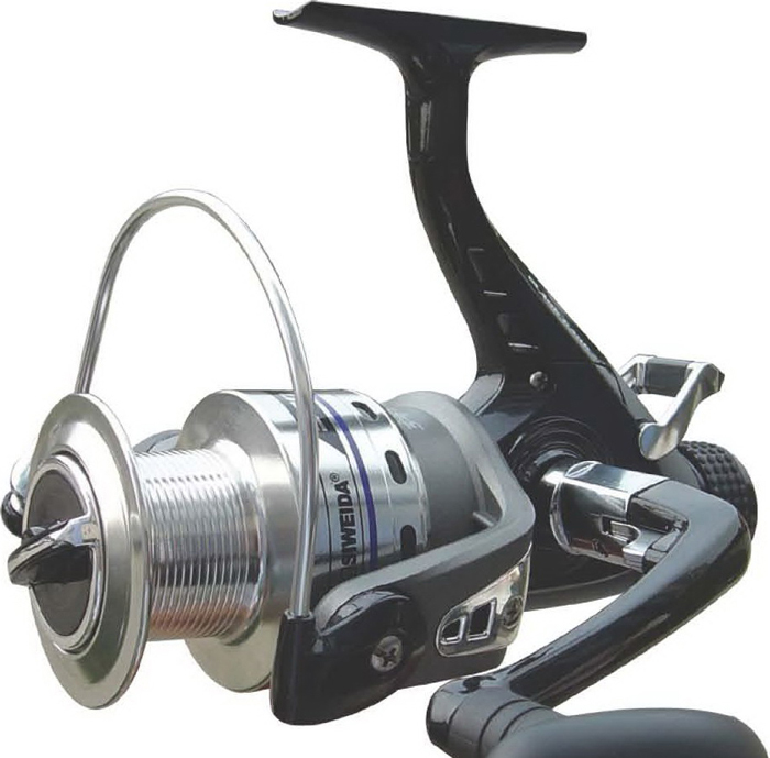 Катушка рыболовная SWD Black Carp 400, 3+1BB. 12758
