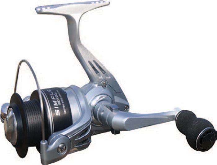 Катушка рыболовная SWD Simple 3000FA, 1BB. 49460