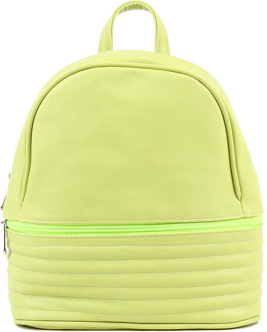 Рюкзак женский Медведково цвет: светло-зеленый. 18с3329-к14