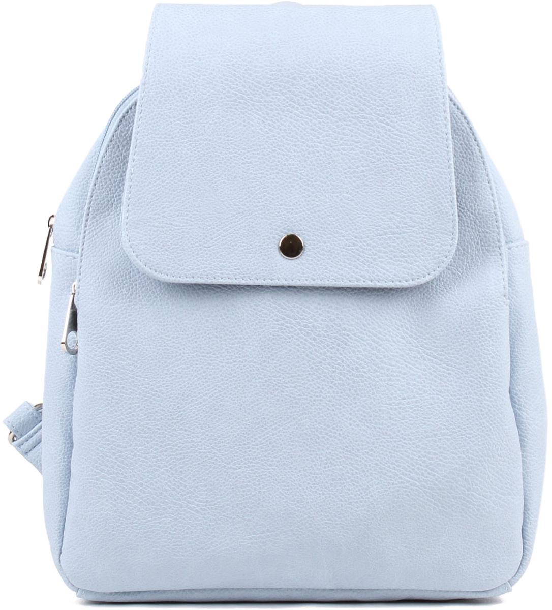 Рюкзак женский Медведково цвет: голубой. 18с3327-к14