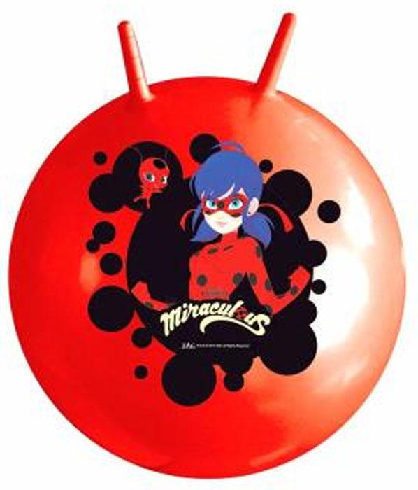Играем вместе Мяч Леди Баг с рожками 55 см SJN-22