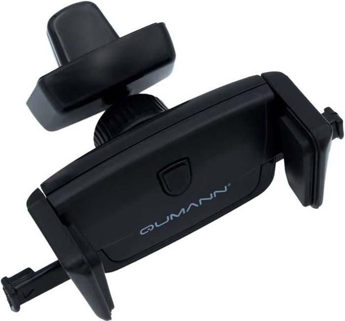 Qumann QHP-02 Air, Black автомобильный держатель для смартфонов 3-5,5 автомобильный держатель dvr