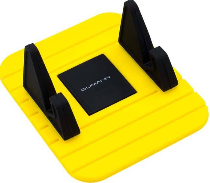 Qumann QHP-06 Panel, Black Yellow автомобильный держатель для смартфонов 3-5,5 панель приборов для мотоцикла dd250g 2n dd125g 3 150g 250g