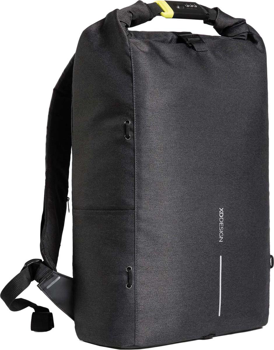 Рюкзак городской XD Design Bobby Urban Lite, для ноутбука до 15,6, цвет: черный, 27 л рюкзак xd design bobby для ноутбука 15 черный