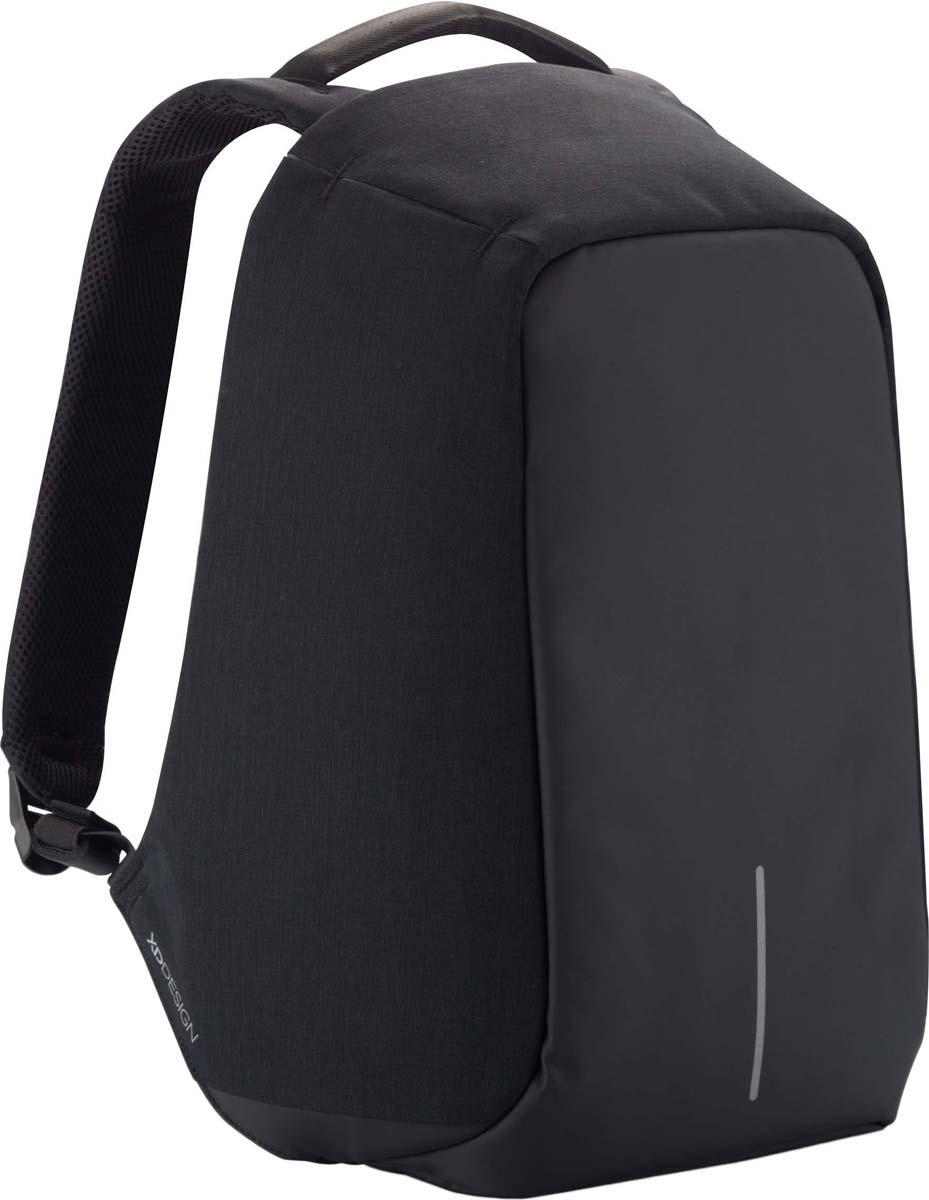 Рюкзак городской XD Design Bobby XL, для ноутбука до 17, цвет: черный, 15 л рюкзак xd design bobby compact для ноутбука 14 бирюзовый