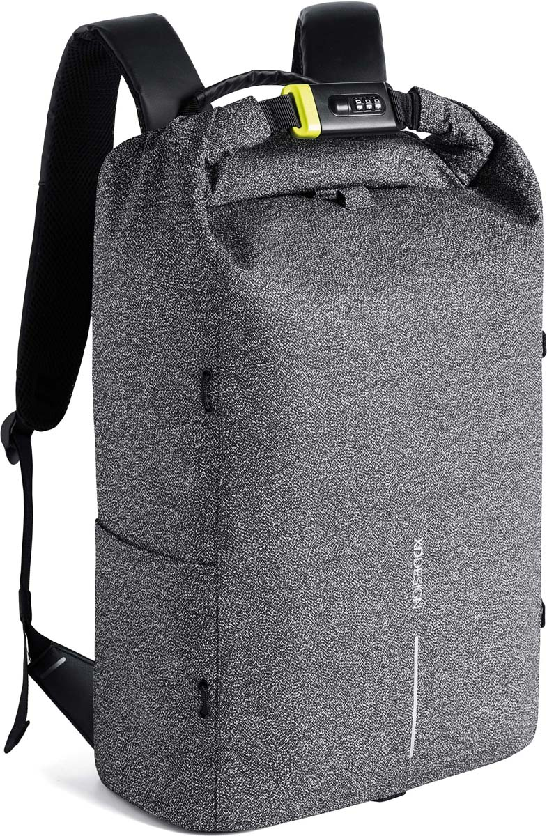 Рюкзак городской XD Design Bobby Urban, для ноутбука до 15,6, цвет: серый, 27 л рюкзак xd design bobby для ноутбука 15 серый