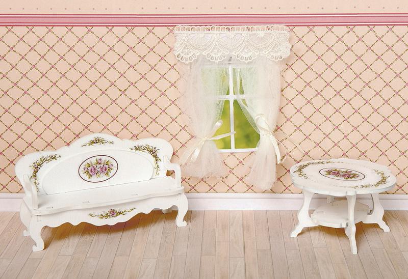ЯиГрушка Набор мебели для кукол Гостиная 3 предмета