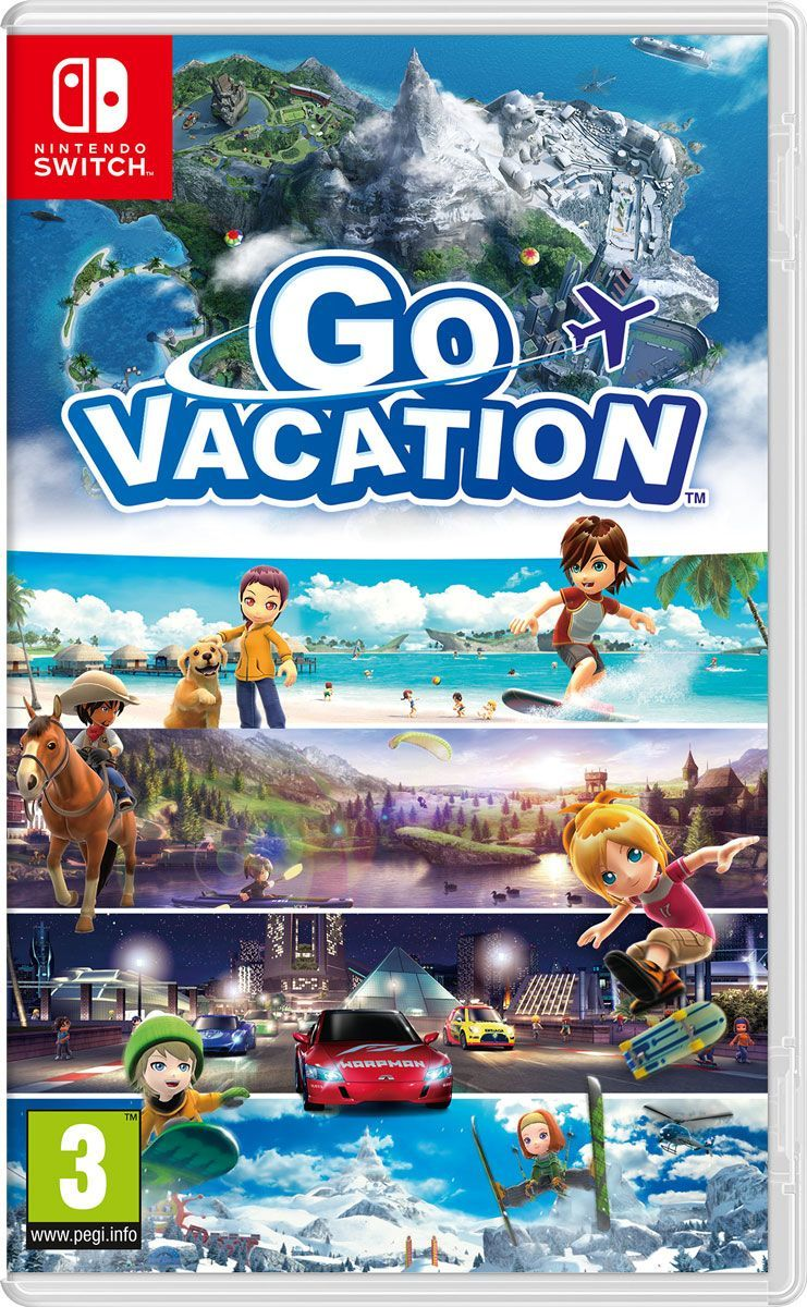 Zakazat.ru Go Vacation (Nintendo Switch)