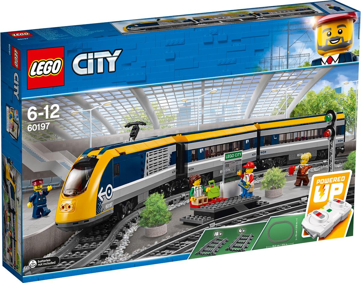 LEGO City Trains Конструктор Пассажирский поезд 60197
