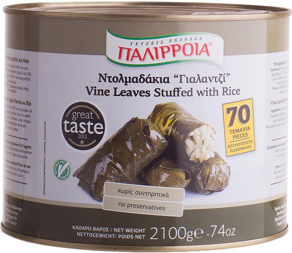Palirria Долма вегетарианская, 2 кг federici перья рифленые макаронные изделия 500 г