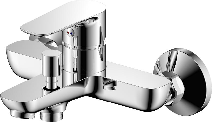 Однозахватный современный смеситель для ванны.Латунный корпус из высококачественного сплава HQ Brass (содержание меди не менее 60%, толщина стенок корпуса более 2мм) и двухслойное никель-хромовое покрытие Liquid Diamond — позволяют увеличить срок службы изделия до 25 лет.Характеристики:Гарантия 7 лет на корпус, покрытие и картридж смесителя.Пластиковый аэратор увеличенной проходимости позволяет быстро наполнить ванну.Хромированный шланг 1,5м с системой Double Lock (двойное сцепление звеньев оплётки обеспечивает прочность шланга от разрыва)Керамический картридж 35 ммПоворотный держатель лейкиДушевая лейка Touch Clean (3 режима)Комплект крепления
