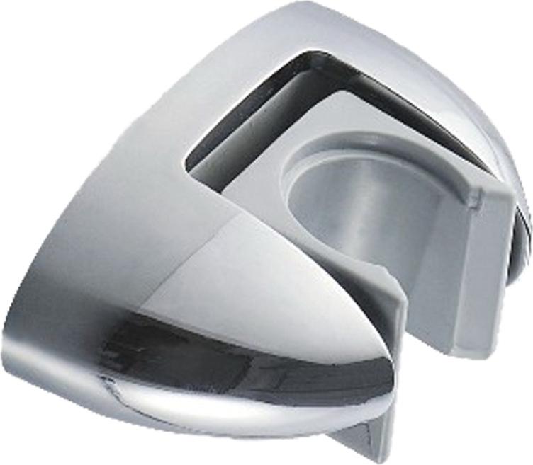 Поворотный держатель для душевой лейки позволяет легко менять положение лейки.Держатель изготовлен из ABS-пластика — прочный износостойкий полимер.Хромированное покрытие Liquid Diamond обеспечивает зеркальный блеск, стойкость к появлению царапин и помутнений.Характеристики:Гарантия 3 годаПокрытие: никель-хром.Комплект крепления.