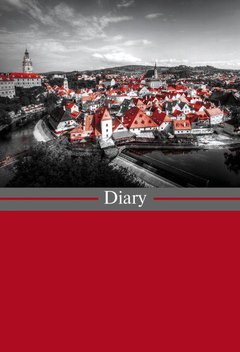 Феникс+ Ежедневник Диари Европа 80 листов цвет красный серый eating disorders