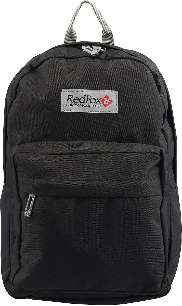 Рюкзак детский городской Red Fox Bookbag M1, цвет: черный, 25 л рюкзак городской husky maker цвет черный 20 л