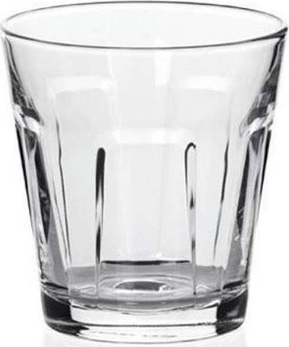 Элегантные стаканы для сервировки напитков. Изготовлено из прочного чистого стекла. Можно мыть в посудомоечной машине.