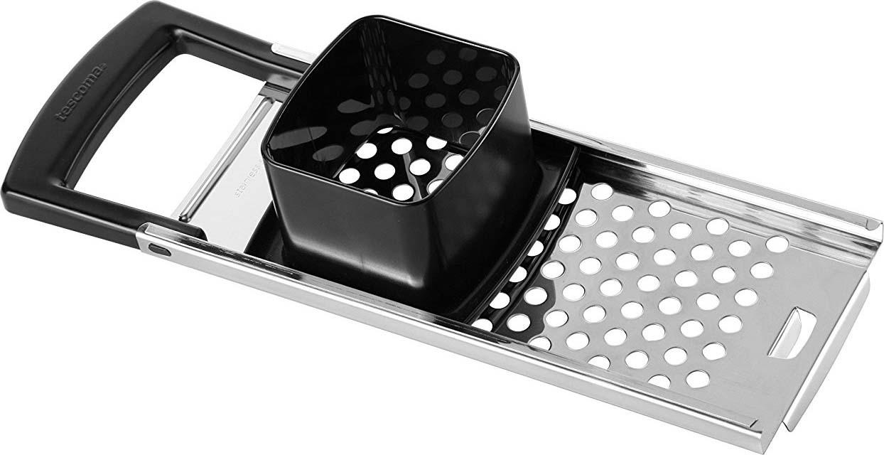 Отлично подходит для легкой и быстрой готовки клецок. Изготовлено из высококачественной нержавеющей стали и прочной пластмассы. Можно мыть в посудомоечной машине.