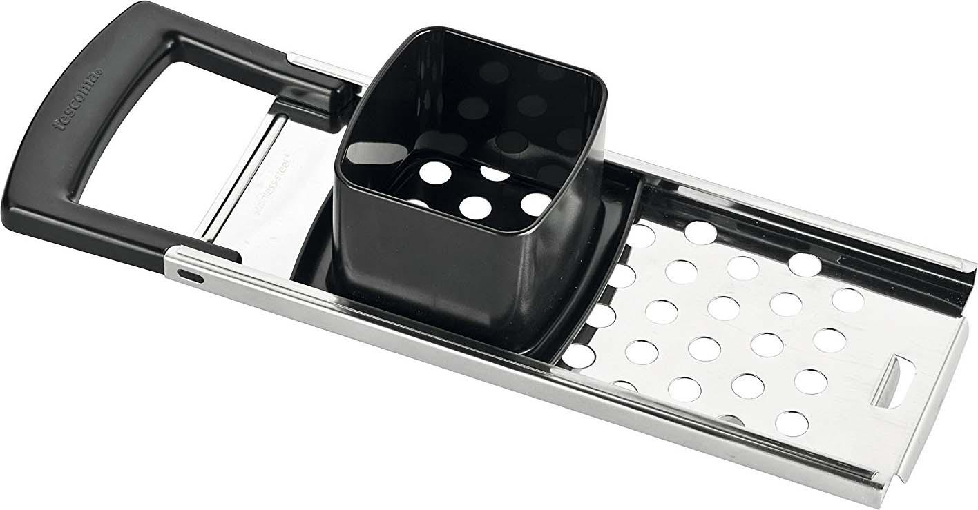 Отлично подходит для легкого и быстрого приготовления галушек. Изготовлено из высококачественной нержавеющей стали и прочной пластмассы. Можно мыть в посудомоечной машине.