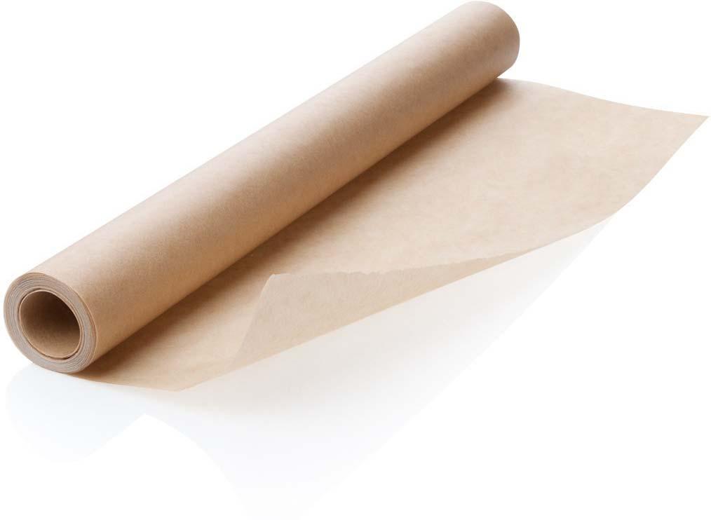 Отлично подходит для здоровой выпечки без использования жира. Противни не нуждаются в смазке, они остаются чистыми. Бумага антипригарная с обеих сторон; выпечка не прилипает. Подходит для всех типов печей, включая микроволновую печь. Устойчива до 220 ° C. Не используйте для гриля.