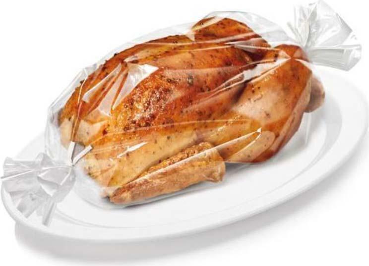 3 м Отлично подходит для здорового запекания мяса, птицы, рыбы и т.д. без использования жиров. Запеченное мясо очень сочное. Противень не нужно смазывать, он остается чистым. Отрежьте необходимую длину рукава для запекания, вложите в него пищу и закройте зажимами, входящими в комплект. Для образования хрустящей корочки, разрежьте рукав до окончания процесса выпечки. Подходит для всех типов печей, включая микроволновую печь. Устойчив до 220°C.