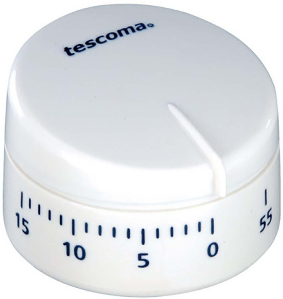 Цвета в ассортименте: красный, белый. - предназначен для точного отмеривания времени при приготовлении, до 60 минут - таймер выразительно подает сигнал об истечении установленного времени - снабжен магнитом для удобного размещения на кухне  Материал: пластик Кухонный механический таймер Кухонный механический таймер – одно из самых удобных приспособлений на кухне. Он предназначен для точного отмеривания времени при приготовлении, время ожидания - 60 минут, таймер выразительно подает сигнал об истечении установленного времени, некоторые модели кухонных механических таймеров, которые можно купить в нашем магазине, снабжены магнитом для удобного размещения на магнитной поверхности. Таймер изготовлен из гигиенически безопасных материалов. Внутри кухонного таймера-магнита находится точный часовой механизм, поставьте таймер на максимум и поверните обратно на время, которое хотите отмерить. Таймер кухонный механический, купить который Вы можете у нас в магазине в Москве или с доставкой по всей России, станет отличным дополнением в коллекции полезных аксессуаров на Вашей кухне и просто стильным украшением. Вы никогда не пропустите момент готовности Ваших блюд, кухонный таймер-магнит Таймер громко зазвенит, когда блюдо будет готово, поэтому Вы можете себе позволить отвлечься на любимый фильм, не опасаясь, что у Вас что-то подгорит или переварится.