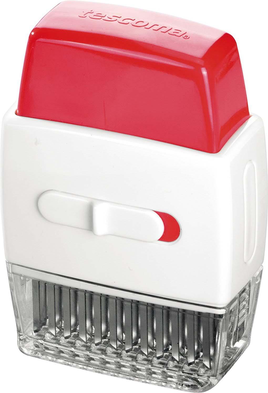 Отлично подходит для подготовки сочных стейков и размягчения всех видов красного мяса. Размягчитель легко разобрать для мытья. Можно мыть в посудомоечной машине. С чехлом для безопасного хранения. Изготовлено из высококачественной нержавеющей стали и прочной пластмассы.