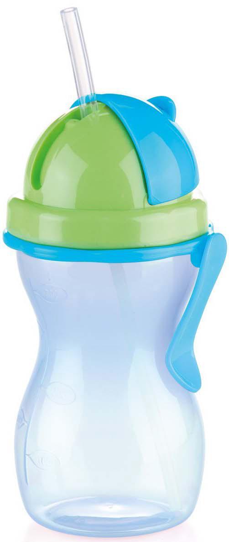 Цвет в ассортименте: розовый, зеленый; синий, зеленый. Детская бутылочка с гибкой силиконовой трубочкой и уплотнением, шкалой для удобного отмеривания и зажимом для подвешивания. Изготовлено из высококачественного нетоксичного пластика, подходит для холодильника и микроволновой печи (без крышки). Контейнер можно мыть в посудомоечной машине, крышку, трубочку и уплотнение вымойте под проточной водой и дайте высохнуть. Подходит для детей от 12 месяцев. Гарантия 3 года.