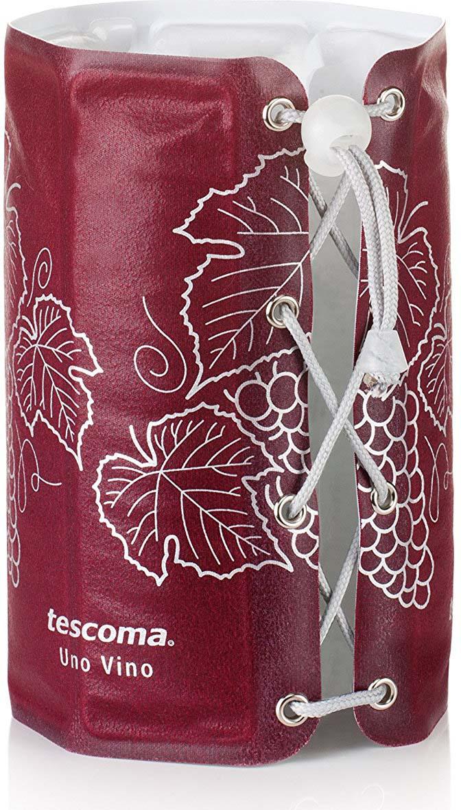 Цвет в ассортименте: красный, зеленый. Отлично подходит для быстрого охлаждения и подачи белого, розового, красного вина и шампанского. Охлажденный чехол оденьте на бутылку, охлаждайте необходимое для этого время и подавайте вино. Чехол изготовлен из прочной синтетической ткани с гелиевой охлаждающей вставкой.