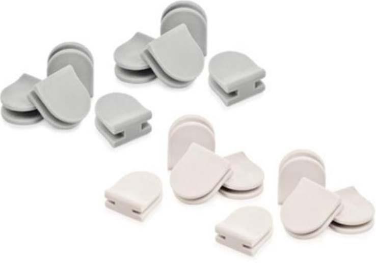 Цвет в ассортименте: белый, серый. Хватает для соединения до 6 FlexiSPACE лотков.