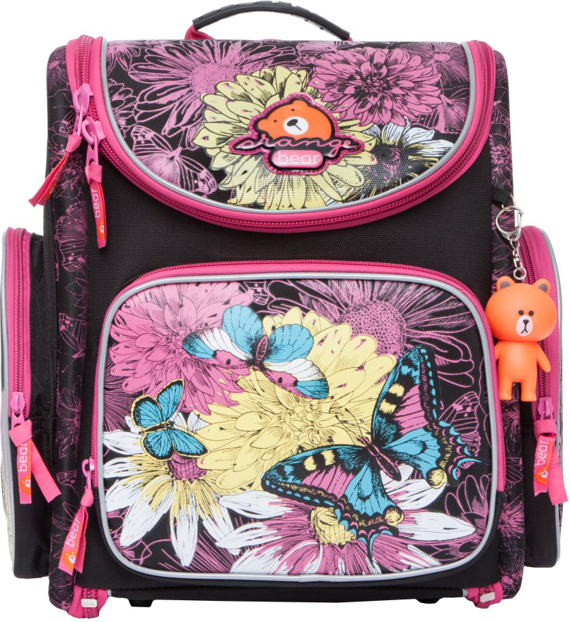 Orange Bear Рюкзак школьный Butterfly цвет черный orange bear рюкзак школьный sportcar цвет черный