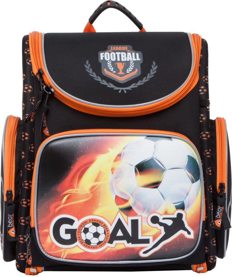Orange Bear Рюкзак школьный Football цвет черный S-17/1 orange bear рюкзак школьный sportcar цвет черный