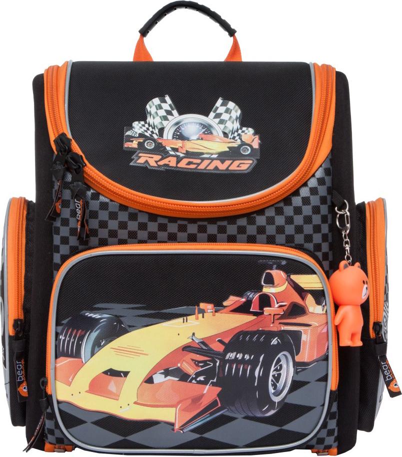 Orange Bear Рюкзак школьный Sportcar цвет черный orange bear рюкзак школьный sportcar цвет черный