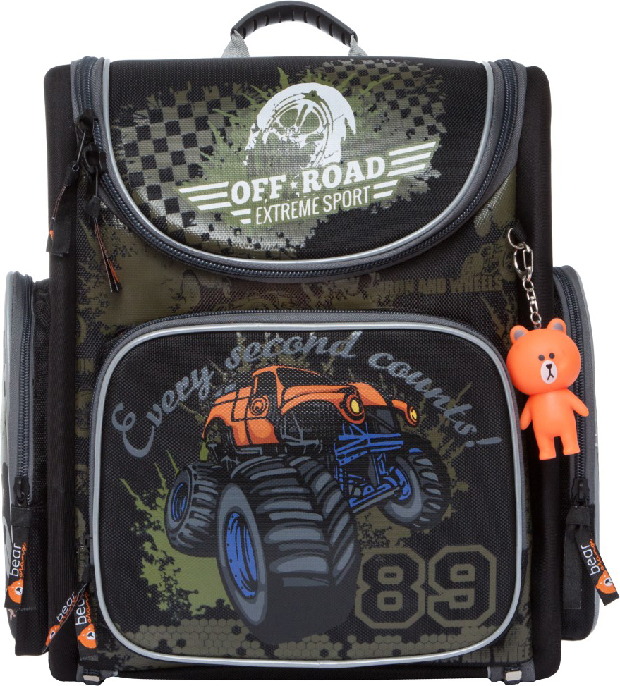Orange Bear Рюкзак школьный Jeep цвет черный orange bear рюкзак школьный sportcar цвет черный