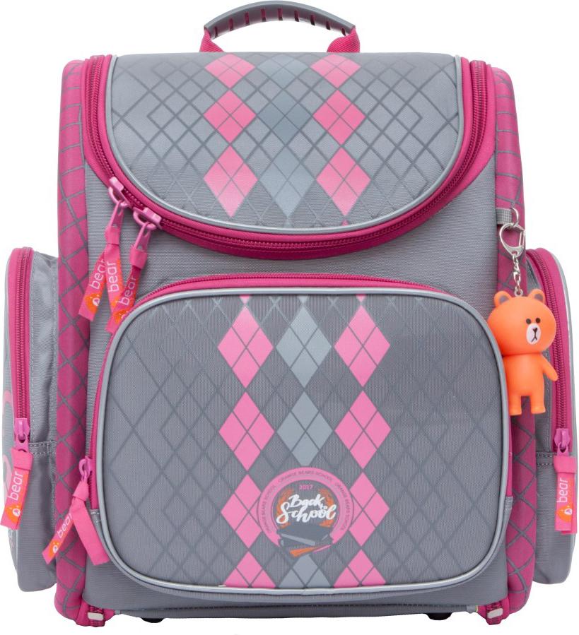 Orange Bear Рюкзак школьный Classic цвет розовый серый ростер supra mts 211