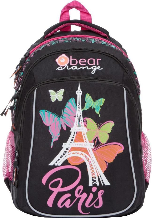 Orange Bear Рюкзак школьный Paris цвет черный orange bear рюкзак школьный sportcar цвет черный