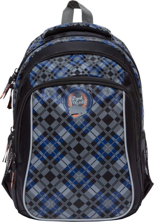 Orange Bear Рюкзак школьный Classic цвет черный orange bear рюкзак школьный sportcar цвет черный