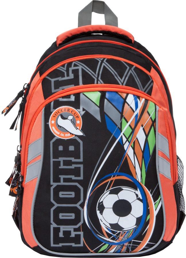 Orange Bear Рюкзак детский Footboll цвет оранжевый черный orange bear рюкзак школьный sportcar цвет черный