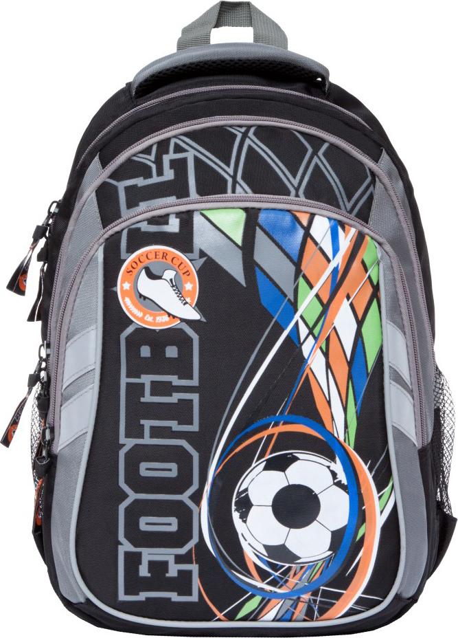 Orange Bear Рюкзак детский Footboll цвет черный серый orange bear рюкзак школьный sportcar цвет черный