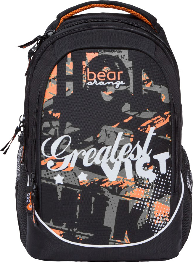 Orange Bear Рюкзак детский цвет черный серый V-63/3 рюкзак danny bear db14859 3