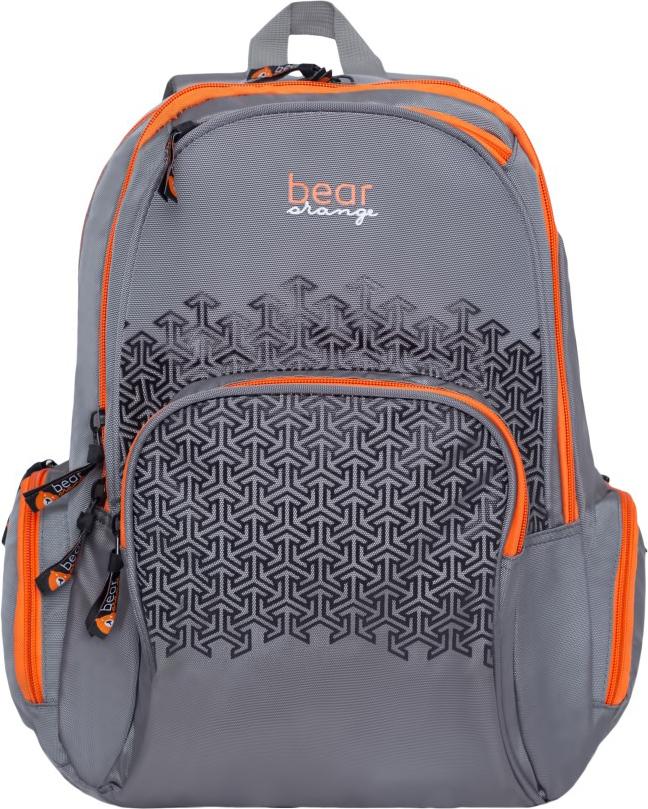 Orange Bear Рюкзак детский цвет серый V-65/1 пенал на молнии лиса 20 8см силикон пвх бокс 12 22716 ml bd2116 1