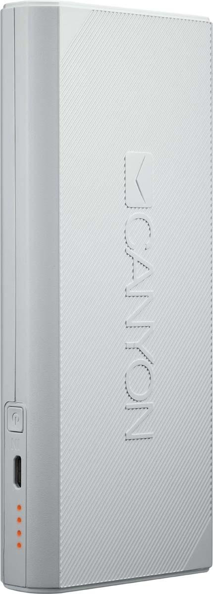 Canyon CNE-CPBF100W, White внешний аккумулятор (10000 мАч)
