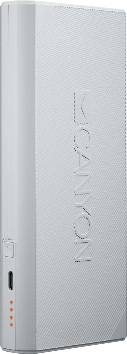 Canyon CNE-CPBF130W, White внешний аккумулятор (13000 мАч)