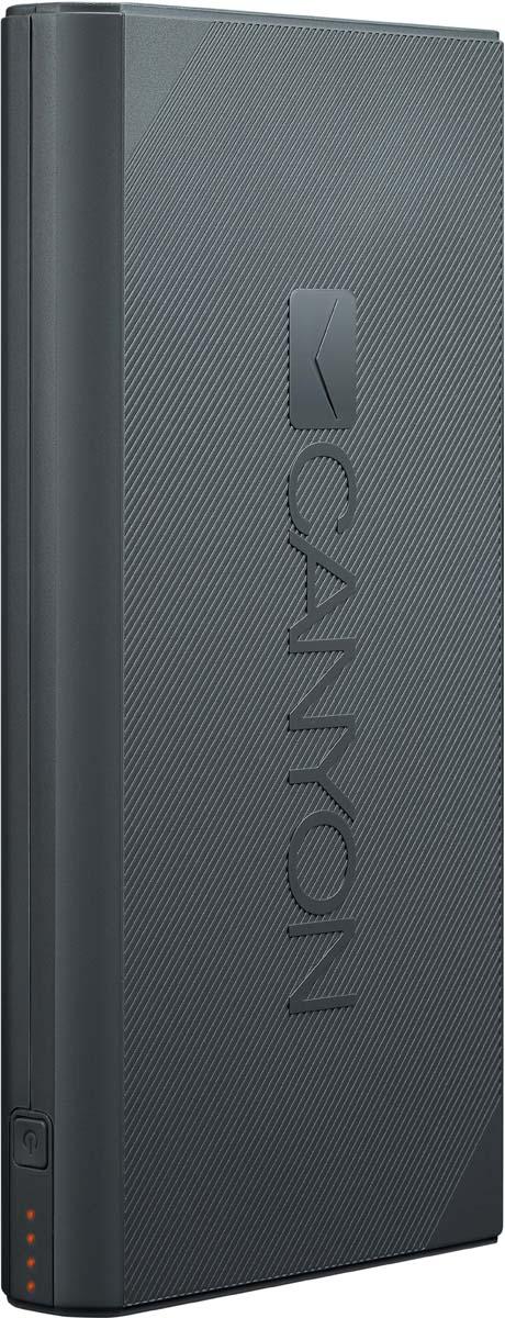 Фото - Canyon CNE-CPBF160DG, Dark Grey внешний аккумулятор (16000 мАч) внешний аккумулятор для