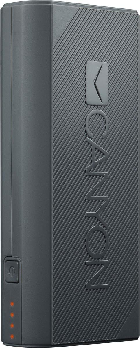 Canyon CNE-CPBF44DG, Dark Grey внешний аккумулятор (4400 мАч)