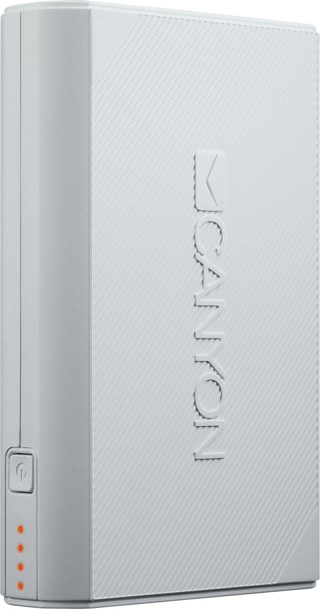 Canyon CNE-CPBF78W, White внешний аккумулятор (7800 мАч)
